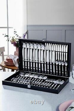 75 Piece Luxury Stainless Steel Cutlery Set Kitchen Spoon Fork Premium Gift Set