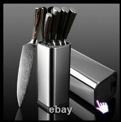 8 pc set STAINLESS STEEL KITCHEN KNIVES BY VERTOKU (40% OFF)
