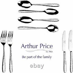 Arthur Price Gift Set Monsoon Mirage 44 Pce Cutlery Set 6 Place Stainless Steel