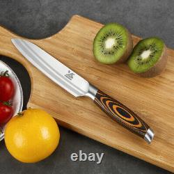 BIGSUNNY Knife Set Kitchen Knife Set German Steel Modern Butcher Knives set
