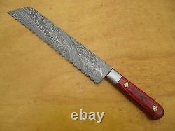 CUSTOM MADE DAMASCUS BLADE 6 Pc's. KITCHEN KNIVES SET. ZE-1081