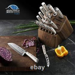 Cangshan S1 17-piece German Steel Forged Knife Block Set
