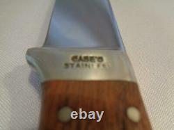 Case's Stainless Mariner's Model 147 Marlin Spike & Fixed Blade Sheath Knife Set