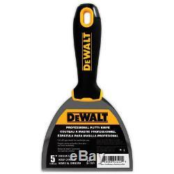 DEWALT Hand Tool Set Premium Carbon/Blue Steel Taping Putty Knives, Mixers, Pan