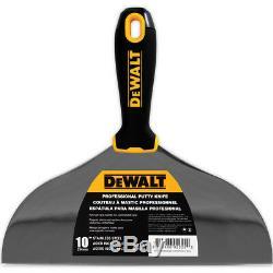 DEWALT Putty Knife Set 6pc 3-4-5-6-8-10 Stainless Steel Drywall Tools