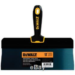 DEWALT Taping Knife Set Big Back Blue Steel 8-10-12-14 with Bonus 6 Joint Knife