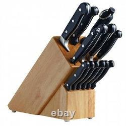 Genuine! AVANTI Perfekt 14 Piece Knife Cutlery Block Set German Steel! RRP $359