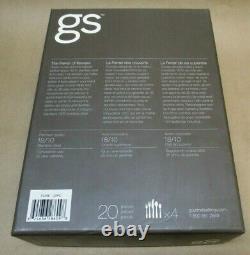 Gourmet Settings GS PURE Stainless Steel Flatware 20 Pc Set, Danish Modern NEW