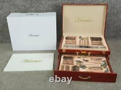 Harrier Verona 72pc 24ct gold plated 18/10 Stainless Steel. Wood box