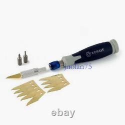 KOBALT 14 pc SpeedFit Precision Hobby Razor Utility Knife Tool Set Blades Exacto