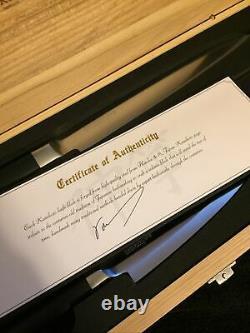 Kamikoto Kanpeki 3 Piece Knife Set In Wooden Box NEW! Japanese Honshu Steel