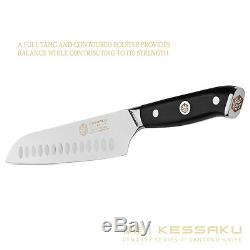 Kessaku 4 Knife Set Dynasty Series German High Carbon Steel- G10 Handles