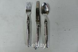 Laguiole Cutlery Set 18 Piece/6 Place Settings Stainless Steel