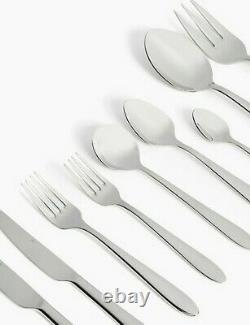 Marks and Spencer 44 Piece Maxim Cutlery Set. Stainless Steel. Gift Set. RRP £99