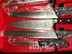 Mercer 14 Piece Kitchen Chef Knife Set Case Cooking Cutlery Carbon Steel Piece