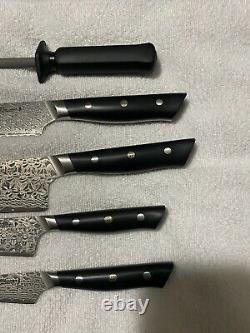 Miyabi Hibana 5 Piece Knife Set 800DP Friodur Fine Carbine FC61 Stainless Steel