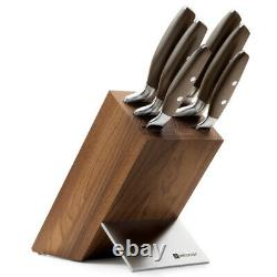 NEW Wusthof Epicure Thermo Beech Knife Block Set 7pce