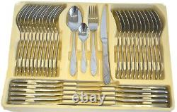 New 72 Piece Stainless Steel Silver Quality Cutlery Canteen set 18/10 Christmas