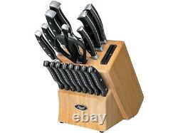 Rosewill 18 Piece Stainless Steel Cutlery Knife Set with Kitchen Shears