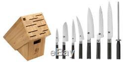 Shun Classic 9 Piece Chefs Choice Block Knife Set DMS0934 BRAND NEW AUTH DEALER