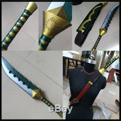 The Seven Deadly Sins Cosplay Meliodas Sword Knife Set 58cm PVC Props Halloween
