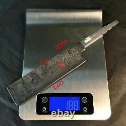 USUBA, Carbon Steel Blade Blank, Set for knife making, crafting, hobby, DIY