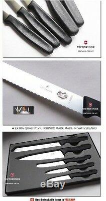 Victorinox Swiss Army Germany Steel Chef Carving Paring Knife 5pcs Set 5.1163.5