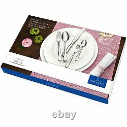 Villeroy & Boch Oscar 30 Piece Gift Cutlery Set Quality 18/10 Stainless Steel