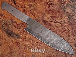 Z-h Custom Hand Made Damascus Blank Blade 6 Pcs Kitchen/chef Knife Set