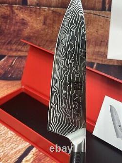 Zwilling Kanren 6 Chef's Knife & 4 Pairing Knife 2 Pc Damascus Blade Prep Set