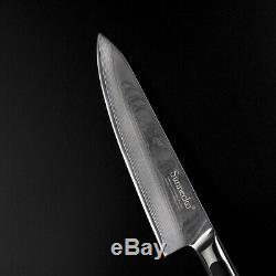 4 Pièces Japonais Vg10 De Cuisine En Acier Couteaux Damas Ensemble Couteau Chef Poignée G10