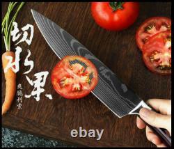 8 Pc Réglés Couteaux De Cuisine En Acier Inoxydable Par Vertoku (40% De Réduction)