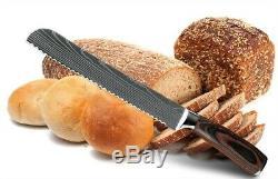 8 Pcs Cuisines Couteaux Style Japonais En Acier Inoxydable Couteau Cleaver Slicing