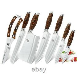 Bigsunny Knife Set Kitchen Knife Set German Steel Modern Butcher Knives Set Bigsunny Knife Set Kitchen Knife Set German Steel Modern Butcher Knives Set Bigsunny Knife Set German Steel Modern Butcher Knives Set Bigsunny Knife Set
