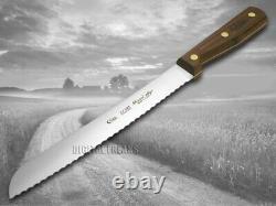 Boîtier XX 9 Piece Kitchen Knife Set Walnut Wood Block Steel 10249