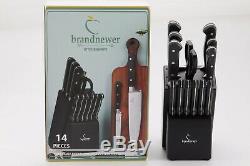 Brandnewer Impression Couteaux De Cuisine Ensemble Avec Le Bloc 14 Pcs En Acier Inoxydable