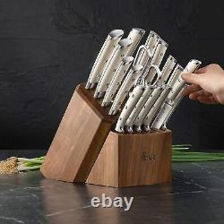 Cangshan S1 17 Pièces En Acier Allemand Forged Knife Block Set