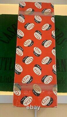 Cas XX Boîte De Lame Fixe De Lettre Noire Réglée En 1976 Complète 4 Boîte De Potiron De Couteau Inutilisée