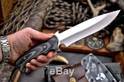 Cfk Main Vg10 Personnalisée De Chasse De Combat Tactique Lame Couteau Et Gaine Kydex Set