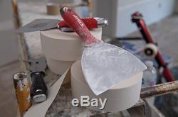 Cloisons Sèches Outil De Finition Set 14pc Ss Cs Couteau Taping Couteau À Mastiquer Boue Mixer Avec Pan