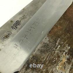 Couteau De Chef De Cuisine Japonais Beaucoup 9 Ensemble / Deba Sashimi Yanagiba 100-230mm Hj