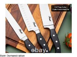 Couteau De Coutellerie En Acier Inoxydable De 18 Pièces Rosewill Avec Gaines De Cuisine