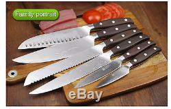 Couteau De Cuisine Qualité Couteaux En Acier Inoxydable Set Chef Professionnel Complet Santoku