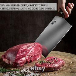 Couteau En Bois Deco Chef 16pc Avec Lames En Acier Inoxydable, Shears Et Plus Encore