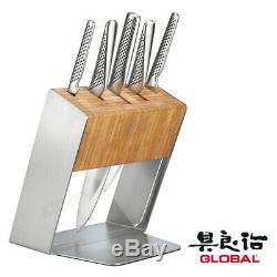 Couteau Global Katana Block Set Chef De L'utilitaire Couteaux En Acier Inoxydable Faites Cuire Le Japon