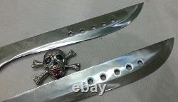 Couteau Sur Mesure Knife King's Really Sharp Book Of Eli Sword 2 Pcs Set