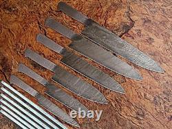 Custom Made Main Lame Damas 6 Pcs Couteau De Cuisine Couteau De Chef Set 071 -blank