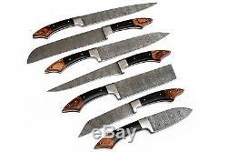 Damas Chef / Cuisine Couteau Sur Mesure Blade 7 Pièces. Ensemble. Ec-1103-h- Br