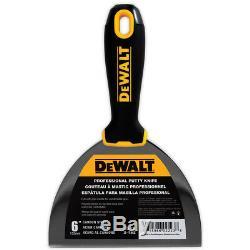 Dewalt D'outils À Main Premium Set Carbon / Blue Steel Enregistrant Couteaux À Mastic, Mélangeurs, Pan