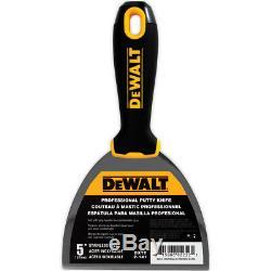 Dewalt D'outils À Main Set 11pc En Acier Inoxydable Enregistrant Couteaux, Mélangeurs Putty + Boue Pan